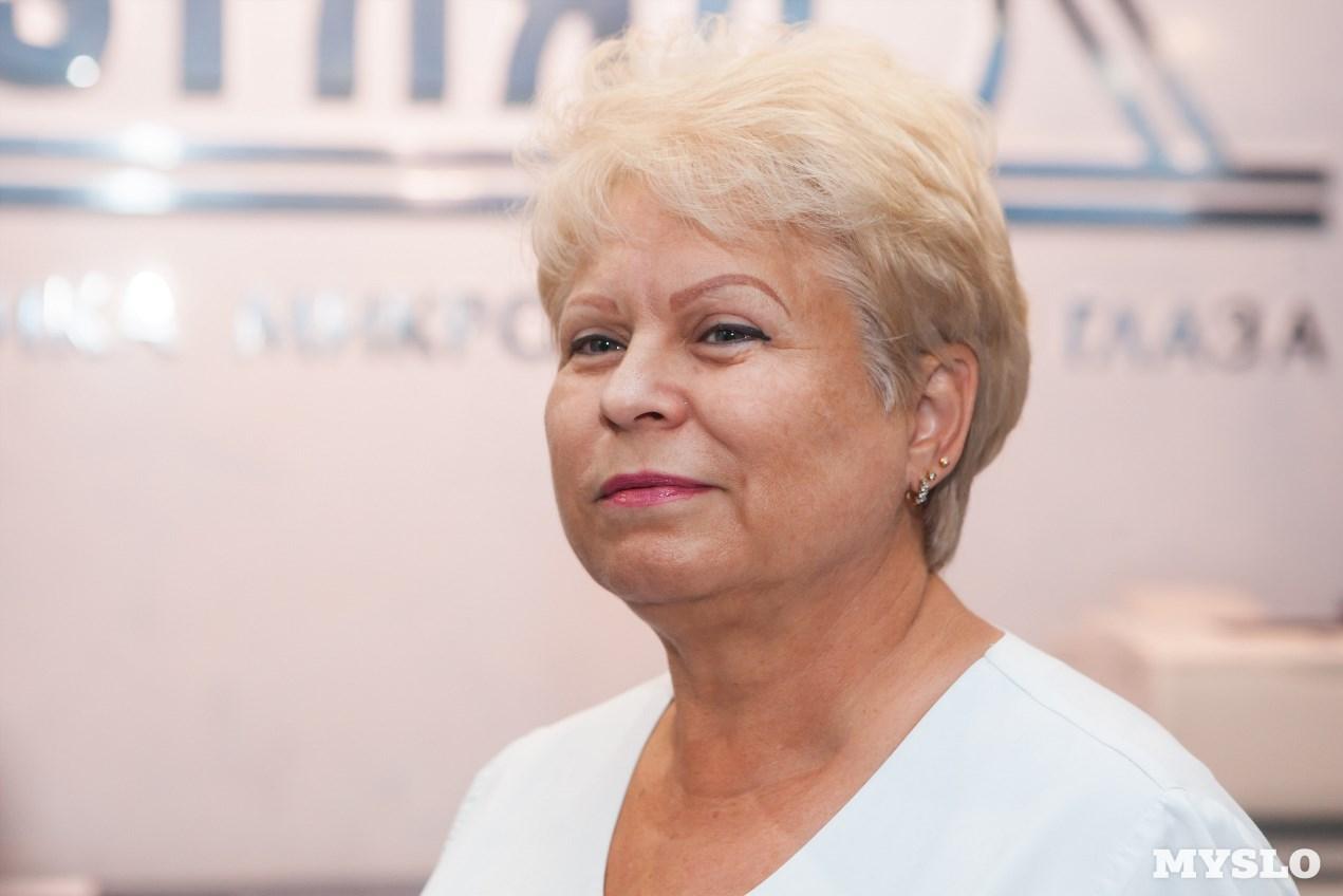 Заведующая клиники «ВЗГЛЯД®» Татьяна Щетинина